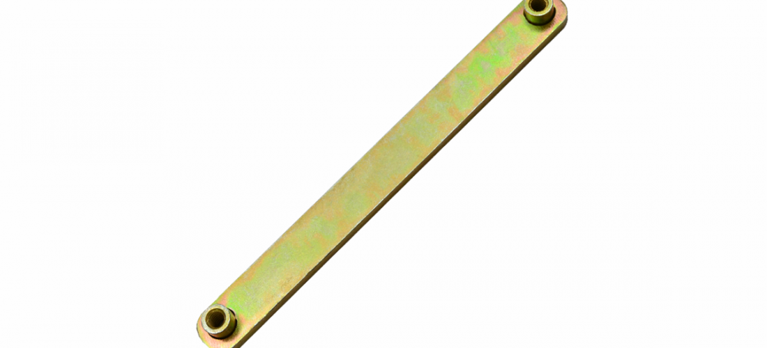 070-006-268SR Ultra Bin Strap, Zinc Plated