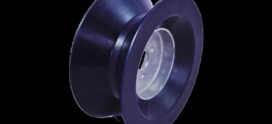 250-001-163 BLUE CHUNKY V-WHEEL